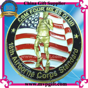 Customized Challenge Coin with 3D Logo pictures & photos