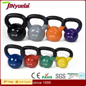 Deluxe Vinyl Kettlebells for Crossfit Exercise