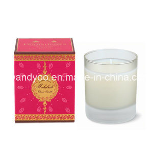Scented Soy Glass Candle in Red Box