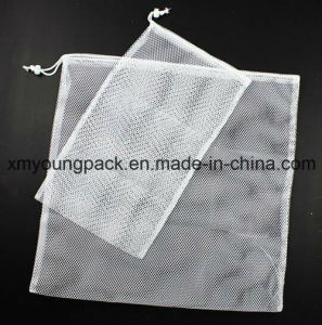 Promotional White Mesh Laundry Pouch Nylon Net Bag pictures & photos