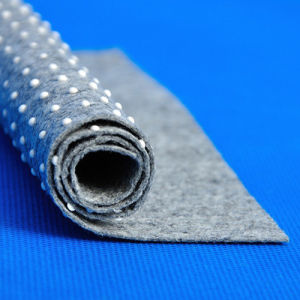 Make-to-Order Nonwoven Technics and 3.1m Felt with White/Black PVC Dots
