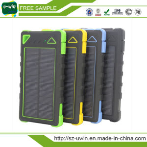 2017 New Style Solar Charger Solar Power Bank 5000mAh pictures & photos