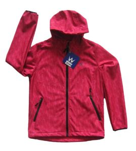 Kid′s High Quality Soft Shell Jacket with Hood