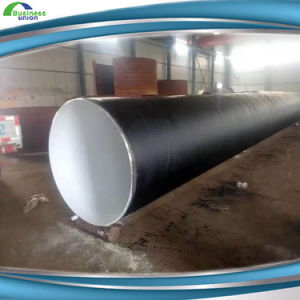 4 Inch Steel API 5L Grade 3 Layer PF Coated Steel Line Pipe