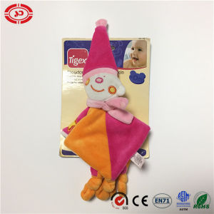 Doudo Puppet Clown Cute Bear Face Infant Care Washing Blanket pictures & photos