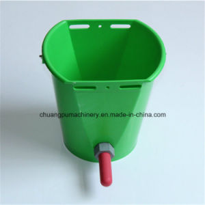 Plastic Calf Feeding Teat Bucket, Feed Buckets for Calf pictures & photos