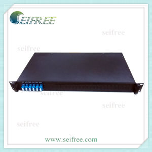 FTTH Optical 4in1 PLC Splitter 1X2 with 19rack (D3) pictures & photos