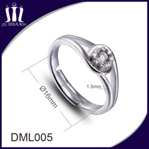 Custom Design Fashion Diamond Jewelry Ring pictures & photos