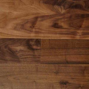 Prefinished Natural Oil American Walnut Solid Wood Flooring