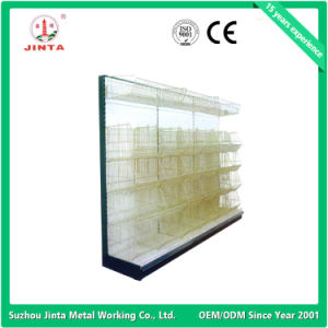 Single Sided Wall Shelf, Metal Supermarket Shelves, Corner Shelf (JT-A24) pictures & photos