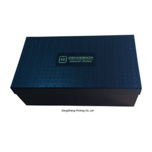 china special design of cardboard paper shoes packing box china