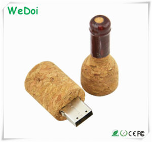 New Bottle Wooden USB Stick with OEM Logo as Promotional Gift (WY-W56) pictures & photos