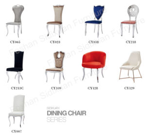 Modern Hotel Dining Chair Stainless Steel Restaurant Furniture pictures & photos