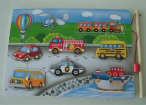 Educational Wooden Fishing Magnetic Puzzle Wooden Toys pictures & photos