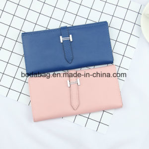 Brand Genuine Leather Lady Multi-Function Zipper Clutch Accessory Wallet (BDX-171004) pictures & photos