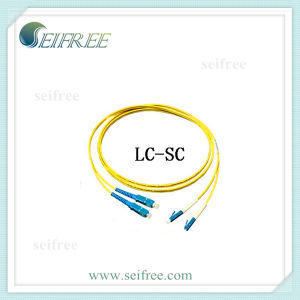 Sc-LC Mode Conditioning Optical Jumper Cable Patchcord pictures & photos
