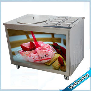 2016 New Model! 8 Toppings Stir Fry Ice Cream Machine pictures & photos
