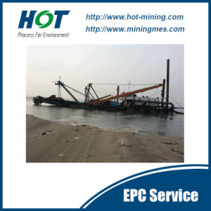 Good Quality Hydraulic 14 Inch Cutter Suction Sand Dredger