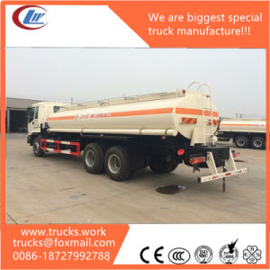 North Benth 6X4 25m3 Water Tanker Fixed on Truck Chassis pictures & photos