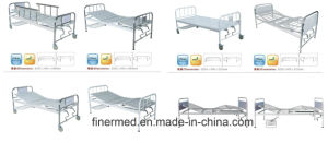 Portable Medical Manual Fowler Bed for Hospital pictures & photos