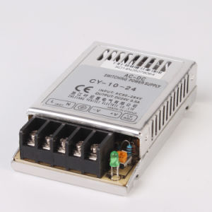 Cy-10-24 10W Single Output 24VDC 0.42A Ultra Thin Power Supply 24V 10W LED Driver pictures & photos