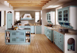 Home Furniture Shaker Kitchen Cabinet Solid Wood Kitchen Cabinet