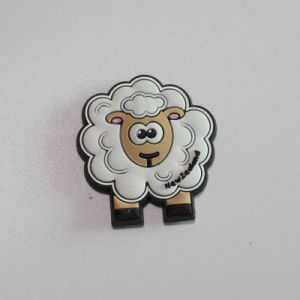 Lovely Sheep Shape Soft PVC Fridge Magnet as Promotional pictures & photos