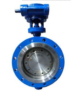. Metal-Seal Butterfly Valve with Drawing