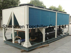 120ton (390KW) Air Cooled Screw Chiller for Air Conditioning Equipment