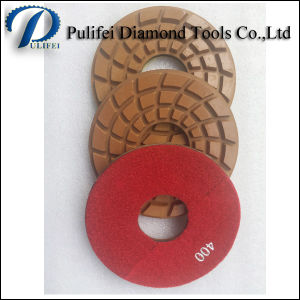 Resin Wet Flexible Floor Grinding Polishing Pad for Granite Marble