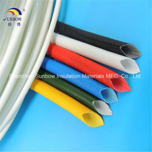 4000V Electrical Fiberglass Insulation Sleeve Coated Silicone Rubber pictures & photos