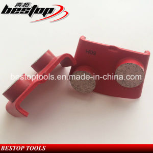 HTC Two Button Segments Grinding Tools for Concrete and Terazzo Polishing pictures & photos