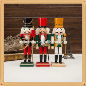 2017 industrial custom wooden soldier nutcracker for christmas decoration - Christmas Decorations Wooden Soldiers