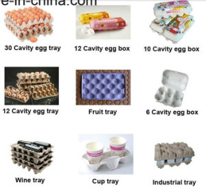 Pulp Egg Tray Moulding Machine/Egg Tray Forming Machine pictures & photos