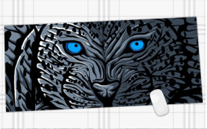 china cool pattern anti slip mouse pad large pad mat mousepad for