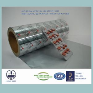 8011 Alloy Heat-Sealed Aluminum Foil for Pharmaceutical Packaging