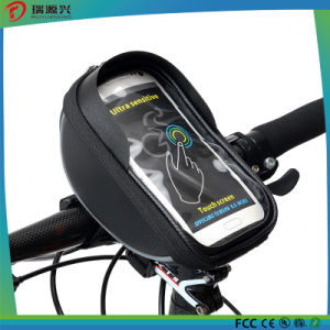 5.5 inch Waterproof Touch Screen Bicycle Handlebar Front Basket Phone Bag