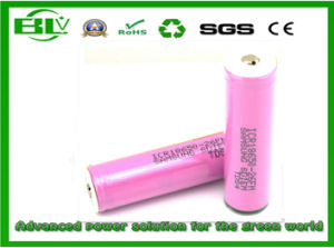 Samsung 26f18650 2600mAh 3.7V Lithium Ion Battery for Electric Motorcycles pictures & photos
