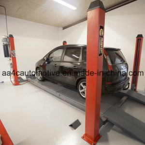 Four Post Car Lift AA-4p35wa pictures & photos