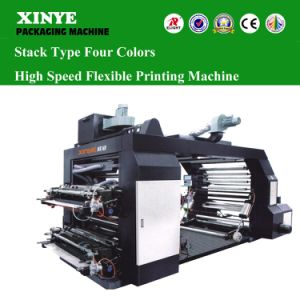 4 Colors High Speed Flexograpgic Printing Machine pictures & photos