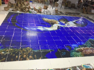 Swimming Pool Mosaic, Mosaic Tile, Crystal Glass Mosaic (HSP334) pictures & photos