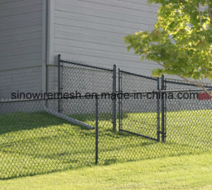 Steel Chain Link Type Temporary Wire Mesh Mobile Fences for Security