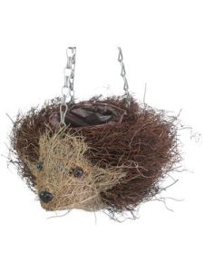Salim Rattan Hanging Hedgehog Basket