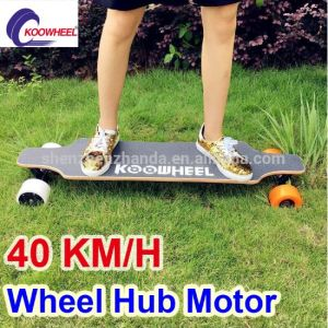 Dual Hub Motor 4 Wheels Electric Skateboard with Remoter pictures & photos