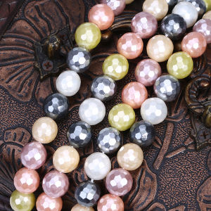"Loose 16"" Dyed Color Mother of Shell Pearl Strand pictures & photos"