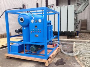 High Vacuum Transformer Oil Purifier with ISO, Ce Certificate