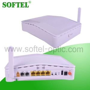 4 Fe Port FTTH Wireless Triple Play Epon Olt ONU pictures & photos