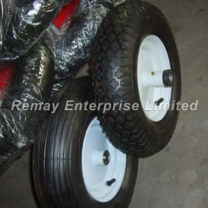 Tubeless Pneumatic Rubber Wheels (4.80/4.00-8) pictures & photos