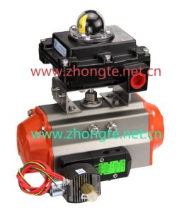 Pneumatic Actuator with Solenoid Valve (AT)