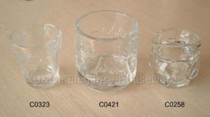 Glass Candle Holder / Glassware (C0323, C0421, C0258)